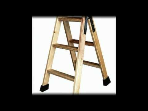 Escaleras de madera youtube - Como hacer una escalera plegable para altillo ...