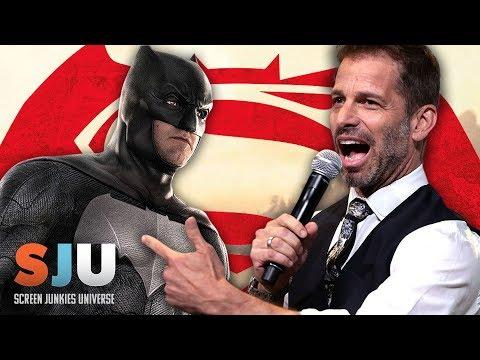 Zack Snyder is STILL Batsplaining Batman v Superman - SJU