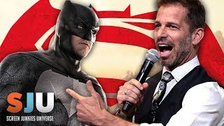 Zack Snyder is STILL Batsplaining Batman v Superman - SJU