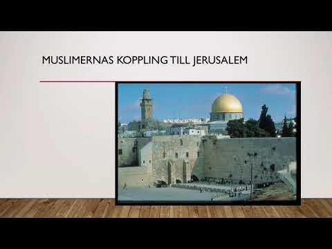 Israel-Palestina Konflikten Religionernas Anspråk