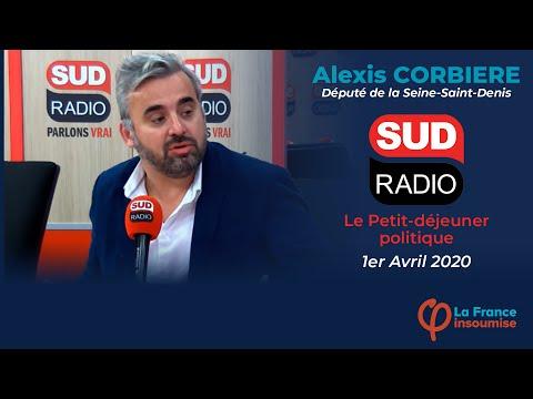 """""""Nous sommes tous confinés dans nos inégalités ! """" Alexis Corbière sur Sud Radio"""