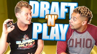 EPIC REAL LIFE DRAFT 'N' PLAY VS. ZACK TTG! NBA 2K18