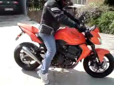 kawasaki z750 2008 - youtube