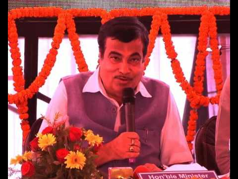 Union Minister Nitin Gadkari briefs media on Eastern Peripheral Expressway