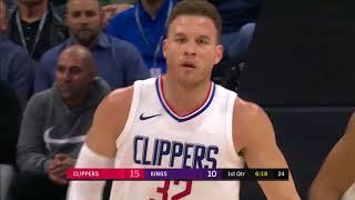 Blake Griffin (18 points) Highlights vs Kings 01-11-18