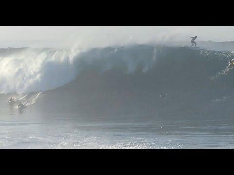 Newport Beach, CA, Wedge Surf 20-25ft, 8/27/2014 - (1080p@60) - Part 3