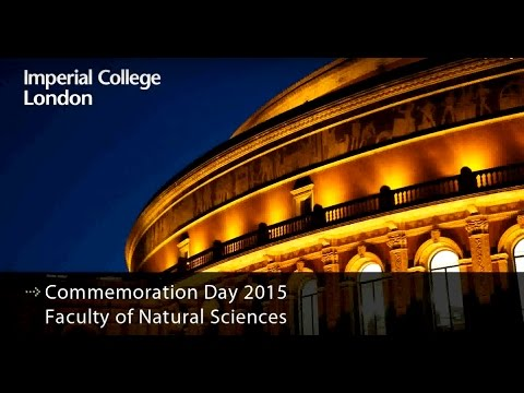 Commemoration day 2015 - Faculty of Natural Sciences