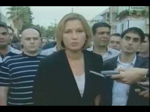 The Players of  World War 3: Tzipi Livni -The Mossad Graduate