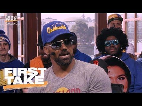 Shemar Moore Won't Rank LeBron James Above Kobe Bryant | First Take | June 5, 2017