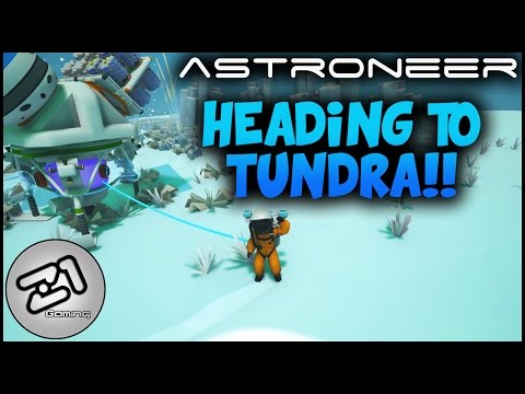 Sputnik and Voyager Satellite and Heading for Tundra ! Astroneer Gameplay S4E11 | Z1 Gaming