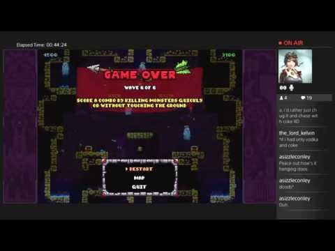 Twitch Cast: Tower Fall Ascension