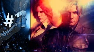 Resident Evil 6 - Lets Play  #1 (Xbox360 PL)