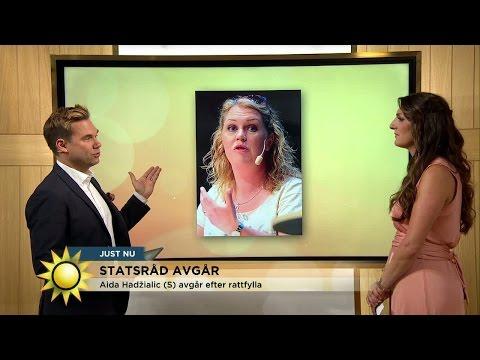 Hon kan ta över efter Aida Hadzialic  - Nyhetsmorgon (TV4)