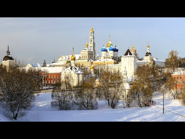 Inside the most Famous Russian Monastery / Christmas Trip to Sergiev Posad / Part 3
