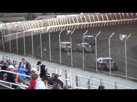 IMCA Northern Sport Mod heat 2 34 Raceway 9/19/15