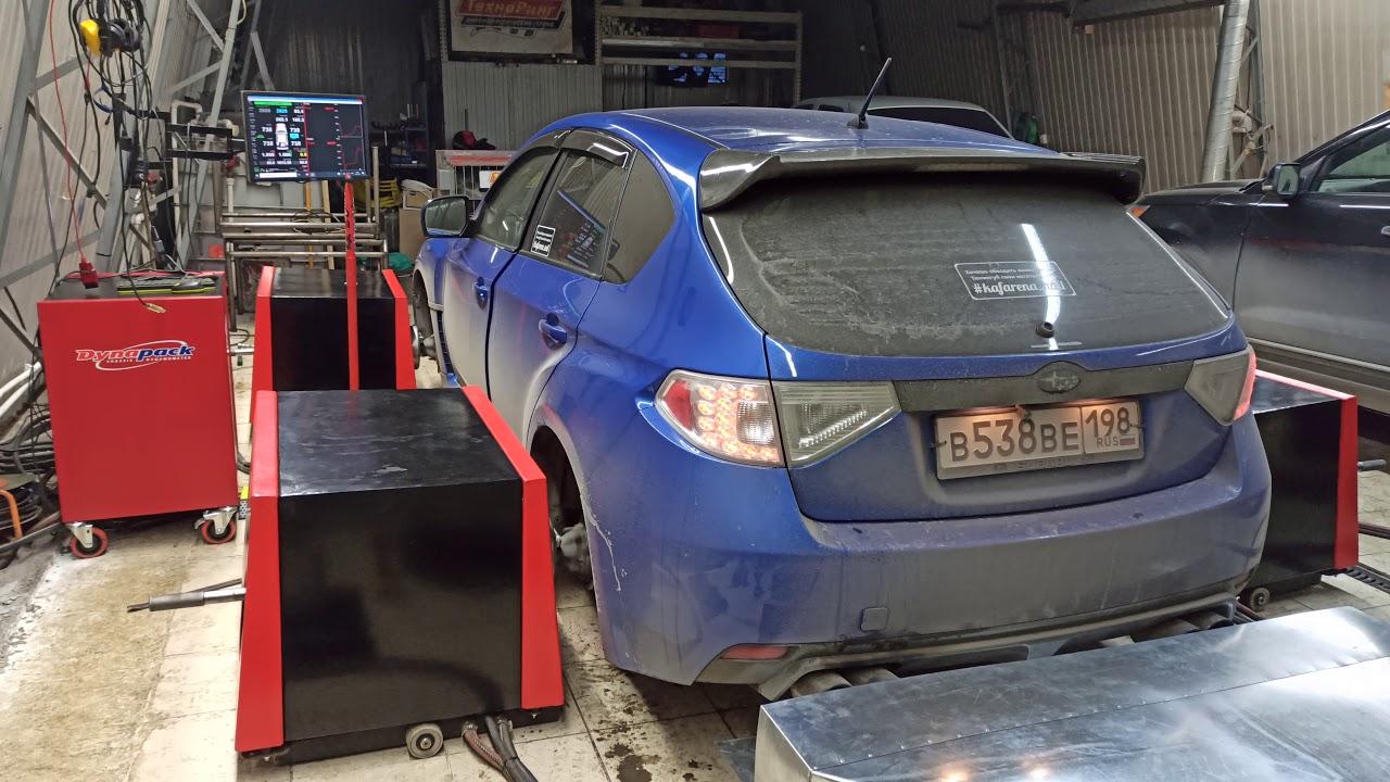Куда-то потерялась мощность на Subaru Impreza WRX STI (but engine ej255) - 230 сил на прошивке!