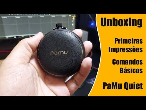 AirPods para que? Conheça o PaMu Quiet - Fone Bluetooth TWS APTX ANC da PadMate