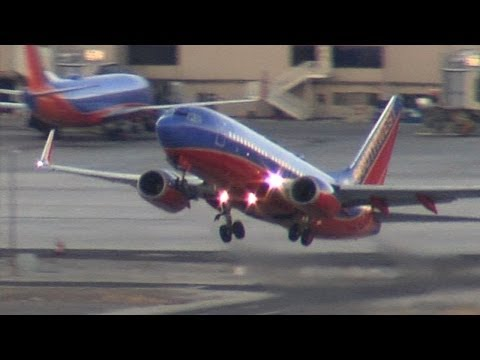 Airplanes Takeing Off From RNO Reno Nevada
