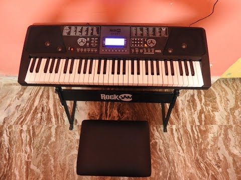 ROCKJAM RJ561 61 KEYS ELECTRONIC KEYBOARD REVIEW
