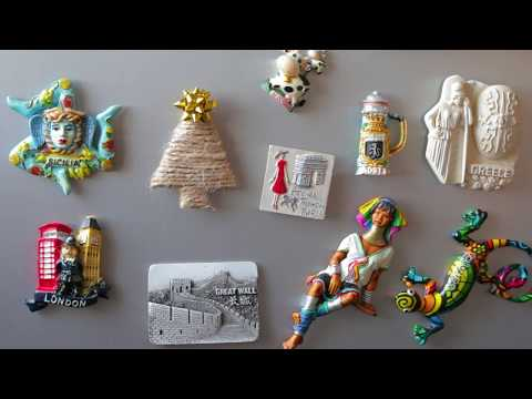 How to make a fridge magnet? DIY - do it yourself