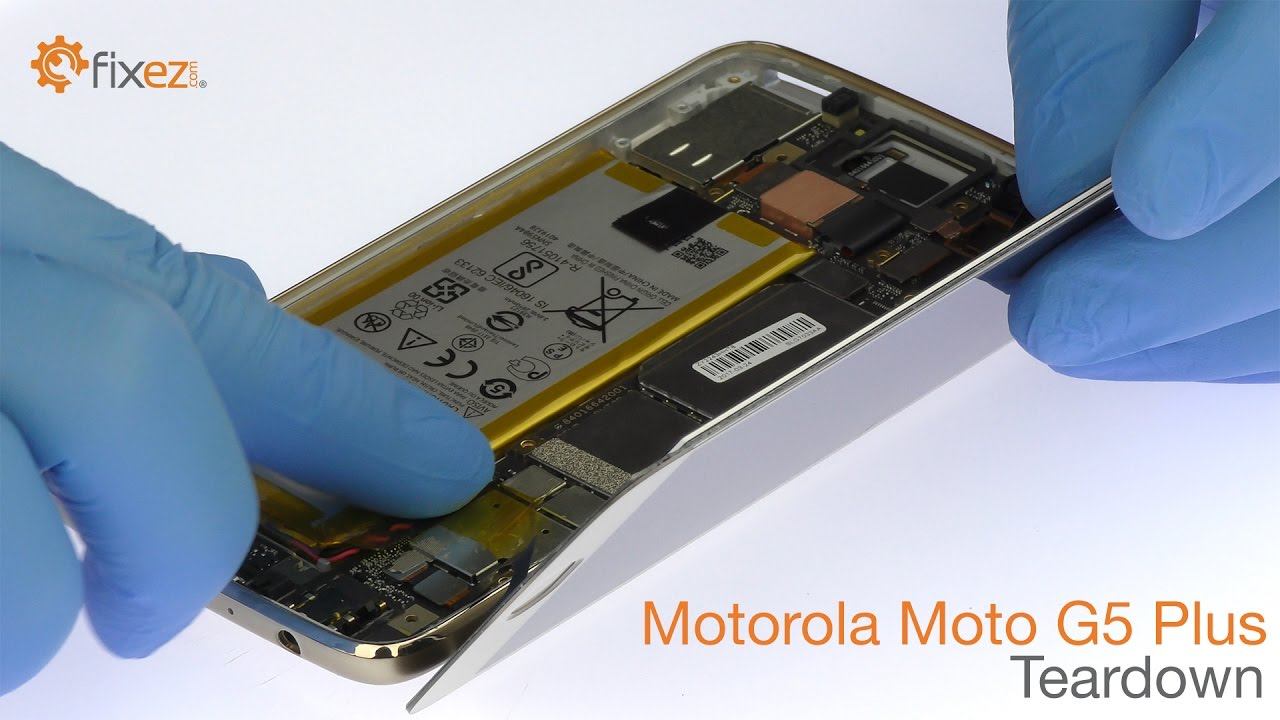 Motorola Moto G5 Plus Teardown and Reassemble Guide - Fixez com