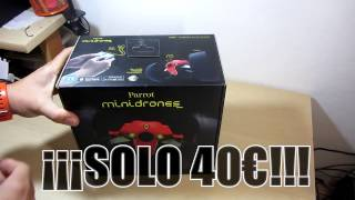 Unboxing Dron Parrot Jumping Race Max  ¡¡¡Solo 40€!!!