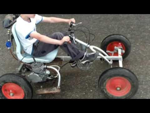 веломобиль с мотором