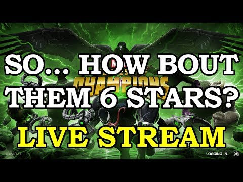 6 Stars huh? Cool. Back to Arena | Marvel Contest of Champions Live Stream