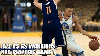 Utah Jazz vs Golden State Warriors Highlights NBA Playoffs Game 1