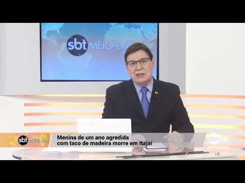 Morre criança agredida com taco de madeira, em Itajaí