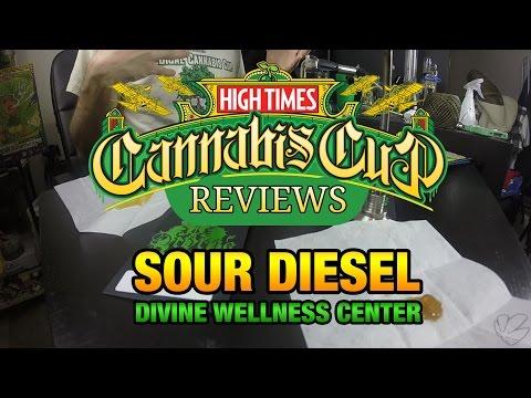 Cannabis Cup Reviews - Sour Diesel by Divine Wellness Center