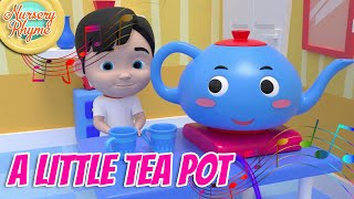 I'm a Little Teapot - 3D | Nursery Rhyme | Lagu Anak Channel
