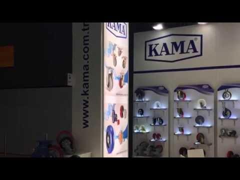 KAMA PRES Motek 2016 Fuarı