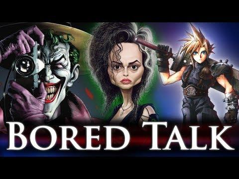 The Next Joker? Greatest Classic RPG? - Bored Talk (Face Reveal!)