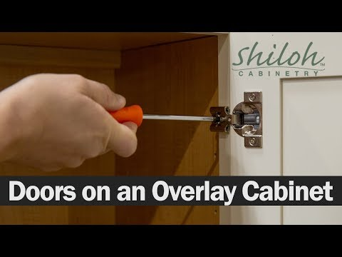 How To Adjust Your Cabinet Doors On An Overlay Cabinet -Shiloh Cabinetry™