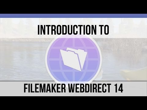 Introduction to FileMaker WebDirect 14    FileMaker Video Training