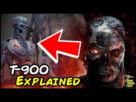Generate Terminator T-900 Explained Pics