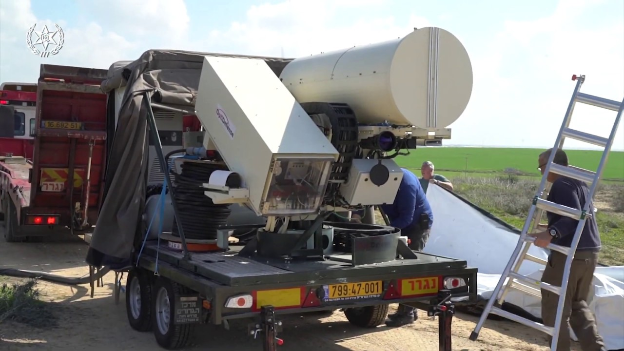 Light Blade Anti-arson Balloon Laser System | מערכת הלייזר להב אור ליירוט בלוני נפץ מעזה