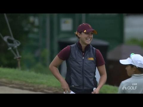 Highlight: Arizona State's Monica Vaughn wins 2017 NCAA Women's Golf Individual Championship