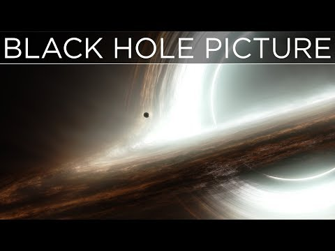 First REAL Picture of A Black Hole?