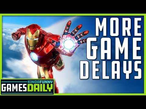 Marvel's Iron Man VR Gets Delayed - Kinda Funny Games Daily 01.17.20