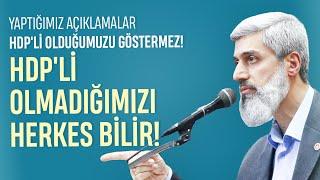 """HDP YANLISI"" İDDİALARINA ALPARSLAN KUYTUL HOCAEFENDİ'DEN CEVAP !"