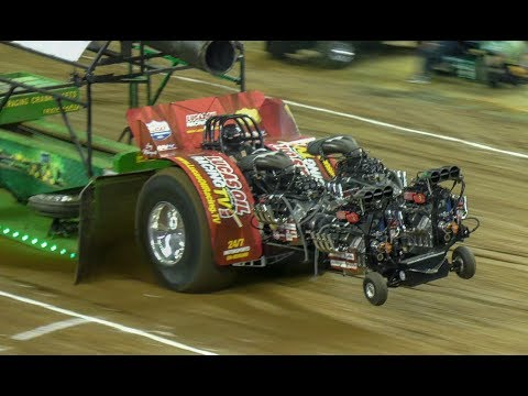 NFMS 2019 Modified Tractor Finals....10,000 HP Monsters.