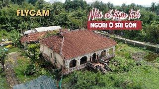 Ngỡ ngàng căn nhà cổ hơn 100 tuổi hoang tàn ở Sài Gòn