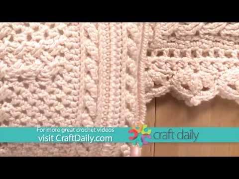 Crochet an Afghan & Pillow with a Celtic Cross Design