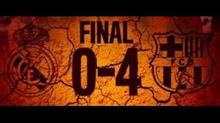 Реал Мадрид - Барселона (0-4) ИСПАНСКОЕ ПОРНО.