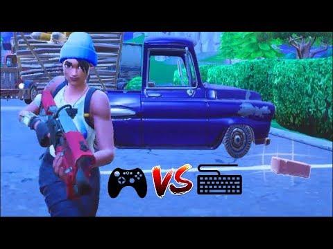 "FORTNITE PC : Controller vs Keyboard ""UPDATE"" w/Crew"