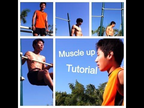Bar friends สอน muscle up(แบบละเอียด)(โดยคนไทย)