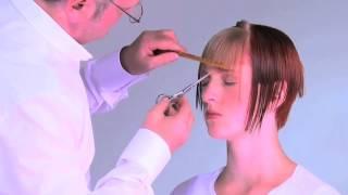 Как подстричь прямую челку - бесплатный видео-урок