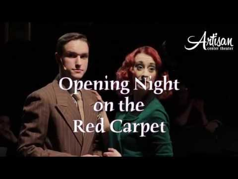 ARSENIC & OLD LACE - Opening Night Interviews Oct 16, 2015